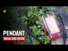 Liontin Dari Resin Bening Dan Kayu / RESIN ART - YouTube Making Resin Rings, Resin Art, Herbs, Pendant, Wood, Youtube, Diy, Woodwind Instrument, Bricolage