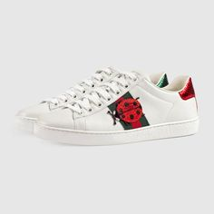 100% authentic 5db37 cb60f Gucci Ace embroidered sneaker. Gucci ShoesGucci ...