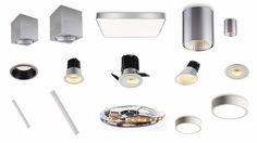 #LED #lamper køkken og LED køkkenspot - Lysdesign får du som en ekstra service hos LEDSECTION.
