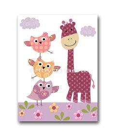 Art for Children,Kids Wall Art,Nursery Girls Room