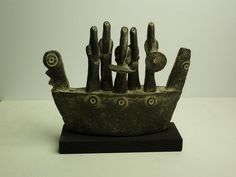 John Maltby (British, b.1936) | Contemporary Ceramics | Boat People