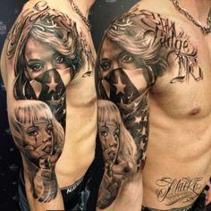 ee039a3d2 35 Mexican Mafia Tattoos Designs ideas meaning of 2018 | Goosetattoo Tupac  Tattoo, Tattoo Chicana