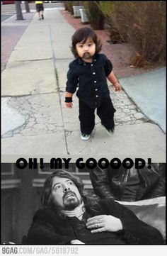 OH! Little Dave Grohl.....