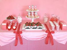 valentine themed party