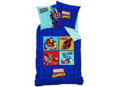Avengers dekbedovertrek Comics Blue