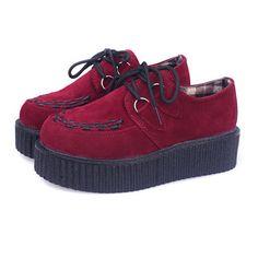 $18.20 (Buy here: https://alitems.com/g/1e8d114494ebda23ff8b16525dc3e8/?i=5&ulp=https%3A%2F%2Fwww.aliexpress.com%2Fitem%2FWomen-Flats-Shoes-2016-new-fashion-creepers-shoes-woman-plus-size-Creepers-platform-shoes%2F32705227938.html ) Women Flats Shoes 2016 new fashion creepers shoes woman plus size Creepers platform shoes for just $18.20