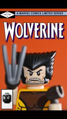 Marvel Comics Wolverine Canada Lego Re-Creation