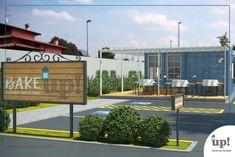 Padaria Drive Thru Container 60m² - Cascais - Fachada