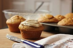 these are absolutely delicious!! !  http://www.theppk.com/2009/11/the-best-pumpkin-muffins/