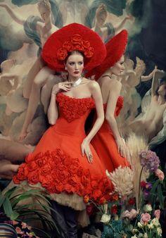 'Golden Gate' Fashion Photography by Andrew Yakovlev