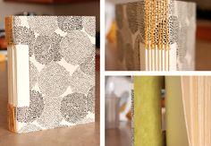 Emily Gilmore Designs: long stitch book binding