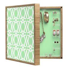 Lisa Argyropoulos Mezzo Mint BlingBox Petite | DENY Designs Home Accessories