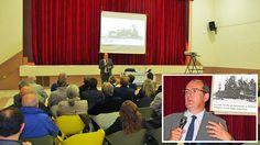 Au Soler Jean Castex transporte son public sur les rails de la grande histoire industrielle du département