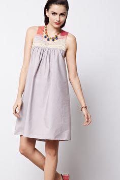 Handknit Raffa Babydoll Dress - Anthropologie.com