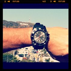 KYBOE, what better watch when your taking on Hollywood!