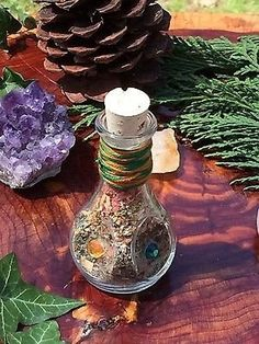 Money Magnet Witch Bottle Increase Cash Flow Prosperity Wicca Witchcraft Magic - Mystic Witch Creations
