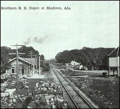 Southern Railroad Depot at Madison, AL. Chamber of Commerce Historical Photo