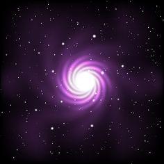 Cosmos And Galaxy Free Vector