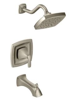 Moen Voss brushed nickel tub/shower faucet