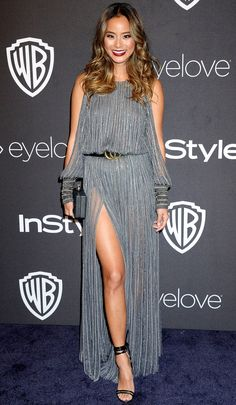 Golden Globes 2017: Best Afterparty Dresses - Jamie Chung in Amanda Wakeley