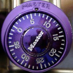 Purple Master Lock