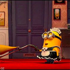 Check out all the awesome minion gifs on WiffleGif. Including all the minions gifs, despicable me gifs, and cute gifs. Minion Gif, Funny Minion, Animiertes Gif, Animated Gif, Snoopy, Animation, Despicable Me, Cute Disney, Funny Photos