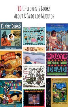 Dia de los Muertos Reading Roundup from Vamos a Leer.