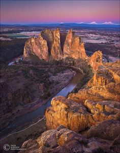Dawn on Top of Smith Rock by Zack Schnepf on 500px  )