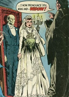 Boys and Ghouls podcast episode 044 is all about weddings!  Check it out...    http://boysandghouls.podbean.com/e/the-bride-of-boys-and-ghouls/