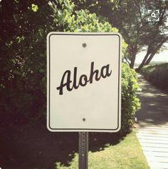 Aloha Kauai.