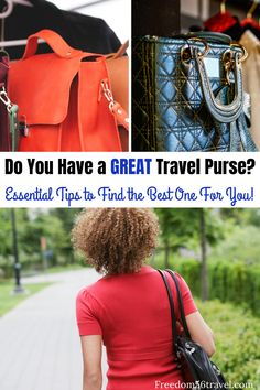 The best travel purses for 2020 are here! Whether you like a crossbody purse, lightweight anti-theft bag, or stylish travel purse, all the best are here! Crossbody Bags For Travel, Travel Handbags, Travel Purse, Backpack Purse, Travel Backpack, Best Travel Bags, Travel Bags For Women, Travel Gifts, Purse Essentials