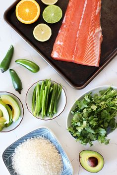 Having salad night after night gets old. Try this salmon ceviche temaki from Honestly YUM. It's super healthy, yet packed with exciting flavors (and no lettuce!!)