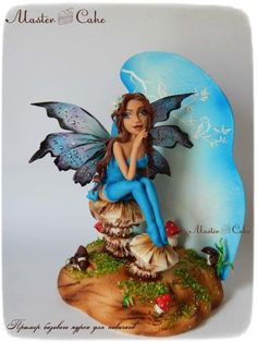 Fairy story in blue by Natalya