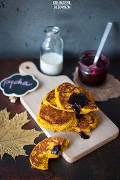 KULINARNE BEZDROŻA: kasza jaglana Pancakes, Cereal, Gluten Free, Breakfast, Recipes, Food, Glutenfree, Morning Coffee, Recipies