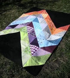 Tutorial: Giant Chevron Quilt