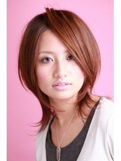 ヘアーアートシフォン 川口東口店(hair art chiffon)|ヘアスタイル:ツヤサラサラモードで大人かわいい前髪のラブクラシカルヘアー1|ホットペッパービューティー