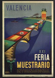 "Courtesy of the Biblioteca de Catalunya (http://www.bnc.cat): ""XXI Feria Muestrario Internacional"", 1943. (Rights Reserved - Free Access) http://www.europeana.eu/portal/record/91906/9B62EBC54256FF8E7147F8ED3F4EAA0948CA25E1.html"
