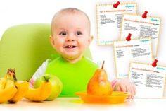 Przepisy na deserki dla niemowlaka – do druku Vogue Kids, Baby Care, Babe, Baby Boy, Children, Breakfast, Food, Young Children, Morning Coffee