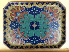 Gouda Pottery Tray Zuid Holland Decor Westland 1920 | eBay