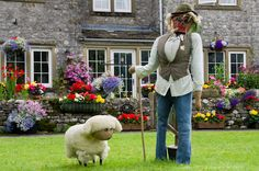 tending sheep scarecrow (kettlewell scarecrow festival 2012--from http://mikesm-sheffield.blogspot.com/