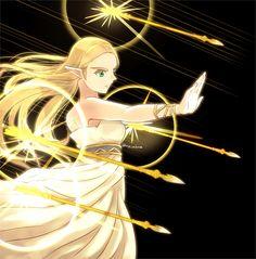 Princesa Zelda, Fan Drawing, Hyrule Warriors, Legend Of Zelda, Fan Art, Anime, Fictional Characters, Nintendo, Fans