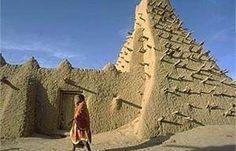 Barro, viento y sol. Raices de una arquitectura africana. Mezquita Sankore en Timbuctú, Mali