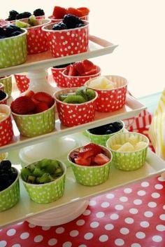 CHIC fruit cups!!#fruit#parties