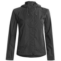 White Sierra Trabagon Rain Jacket - Waterproof (For Women) in Black