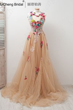This would look so cute if dress was white and flowers were royal blue.