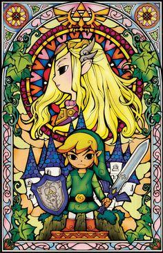 The Legend of Zelda: The Wind Waker, Toon Link and Toon Princess Zelda