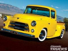 antique pickup trucks | 1955 Dodge Truck Front Photo 1