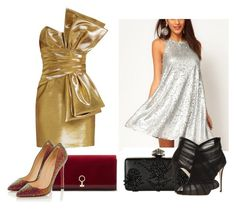 """Untitled #25"" by semysemy ❤ liked on Polyvore featuring Yves Saint Laurent, Alexander McQueen, Louise et Cie, Christian Louboutin and Dolce&Gabbana"