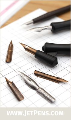 Speedball Pen Point Nibs are well-loved by artists and calligraphers alike! Choose from firm drawing nibs or flexible calligraphy nibs.
