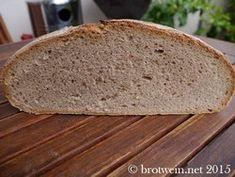 Bauernbrot Weizen-Roggen 70:30 aus Roggensauerteig und mit Brotgewürz